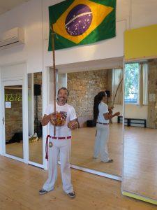 Professeur de capoeira