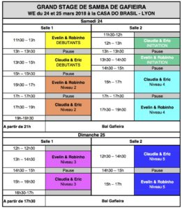 Programme Stage E&R - C&E