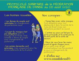 protocole sanitaire - site internet